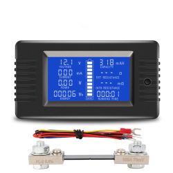 Meetapparaat van de Capaciteit van de Batterij 0-200V 0-1000ah van Peacefair het Multifunctionele