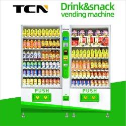 De de Grote Snack van Tcn en Automaat van de Drank Met de Acceptor van het Muntstuk