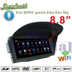 8.8In Android автомобильной системы навигации GPS для BMW 5 Seris E60 E61 M5 Радио стерео