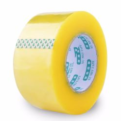 Nastro acrilico dell'imballaggio dell'adesivo BOPP del nastro della gomma butilica