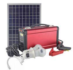 Sistema a energia solare del piccolo mini del LED di illuminazione sistema domestico ricaricabile di energia solare per accamparsi