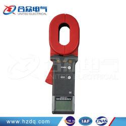 Цифровой зажим на контур сопротивления заземления на массу тестер с дозатора 0.01-1000 Ом 50 устанавливает сохраненных данных с функцией будильника