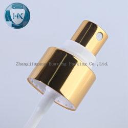 Spruzzatore di alluminio della piegatura dello spruzzatore della foschia del profumo di scarico d'argento dorato 0.08cc del nero 15mm 18mm 20mm per la bottiglia