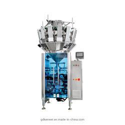 1.6L vultrechter die de Machine van de Verpakking van het Bevroren Voedsel voor de Zak van de Hoekplaat wegen