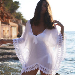Blusa de la Playa Bikini mantón falda de la mujer deporte al aire libre