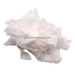 Wegwerf-Belüftung-Handschuh-Puder-freie Vinylhandschuhe mit glatter Note