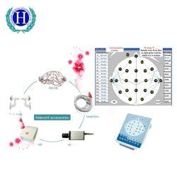 세륨 충분히 Ht88 의학 진단 16 채널 디지털 승인되는 휴대용 두뇌 전기 활동 매핑 제도 EEG 기계