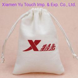 Custom хлопка сумки шнурком сумка для цифровых устройств с электронным управлением
