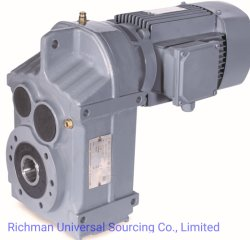 Fシリーズ螺旋形モーター変速機伝達ギヤ速度減力剤