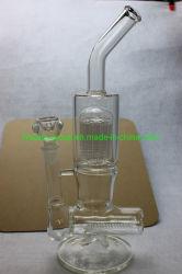 Tubo di acqua di fumo di vetro con le braccia interne dell'albero e di Perc