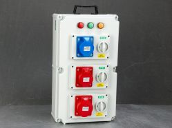 PVC électrique portable mobile Coffret de distribution de la prise de courant avec RCCB