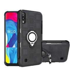 Автомобильный держатель для магнита 360 градусов поворотного кольца 2в1 TPU PC Phone назад чехол для Samsung M10 A10, A20, A50, A60, A70 A20e