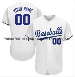 Buenas ventas en línea Envío de elasticidad de la impresa realeza camisetas de béisbol