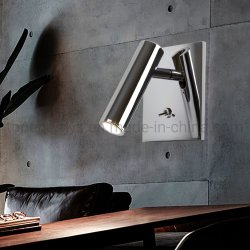 ベッドの頭板の読書夜ランプLEDの屋内夜は30度のビーム角の点の常夜燈の目の保護部屋ライトをつける