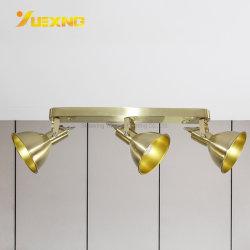 قابل للتعديل سقف مصباح كشّاف سطل يعلى [نون-ديمّبل] ذهبيّة [إ14] [مإكس] [9و] بقعة ضوء [دوونليغت]