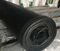 根おおいのフィルム、黒いプラスチック根おおい、白く黒い多フィルム、銀製の黒いHDPE Geomembrane/黒のプラスチックシート-根おおいのフィルム