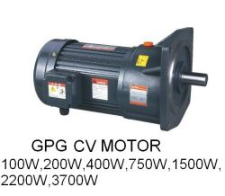 El eje de 22mm de diámetro pequeño AC Motor de engranajes, motor de engranajes tipo horizontal, el freno motor, motor trifásico, CH/CV Motorreductor, Motor de tamaño medio, 200W, 400W, motor de 750 W