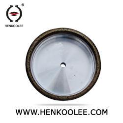 Mola dello smeriglio del ferro dell'obbligazione del metallo di alta efficienza per vetro
