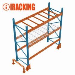 Robuste Lagerbox mit Balken für das Industrielager
