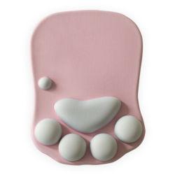 선전용 선물 공장 직접 만화 고양이 클로 실리콘 손목 마우스 패드