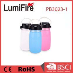 LED piscando Solar Impermeável Camping Lanternas garrafa de água