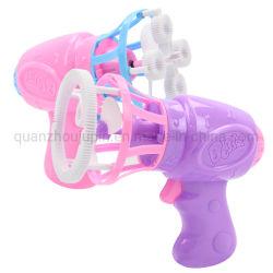 Bulle en plastique personnalisés Rose pistolet jouet électrique