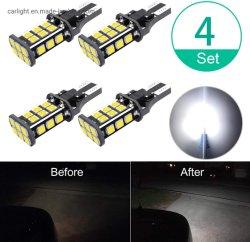 Actualizado Auto bombillas LED 912 921 W16W LED Bombillas de copia de seguridad libre de errores muy brillantes bombillas LED para realizar copias de seguridad de las luces de retroceso de las luces