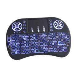 Meilleure vente I8 Mini clavier rétroéclairé à distance de la souris de l'air