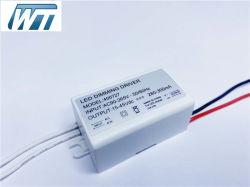 IP67 impermeabilizzano 5-15W Traic che oscura l'alimentazione elettrica del driver di modo LED di commutazione di AC/DC con il formato sottile