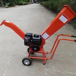 Beweglicher Treibstoff 7HP schielt der 50mm Abklopfhammer-Kapazitäts-Trommel-Garten-Reißwolf für Verkauf an