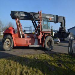 Strumentazione mobile elettrica utilizzata Kalmar del macchinario di costruzione una gru da 45 tonnellate