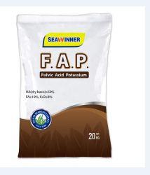 Super Humate de ácido Fulvic potássio fertilizante.