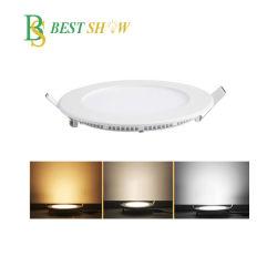 مربع دائري بقوة 3 واط، 6 واط، 9 واط، 12 واط، 15 واط، 18 واط، 20 واط، 24 واط 30 واط، إضاءة LED قابلة للتخفيت