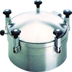 En acier inoxydable Santary 304/316L Yaa Type plaque d'égout pression ronde