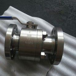 Alloy20 of de Super DuplexRoestvrij staal Gesmede Kogelklep van het Staal Met Van een flens voorzien Einden