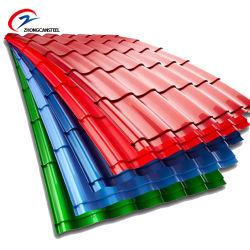 Премьер-Prepainted алюминиевый лист железа/ PPGL стальной лист/PPGI цинковым покрытием цвета/ оцинкованных /Prepainted гофрированный листа крыши