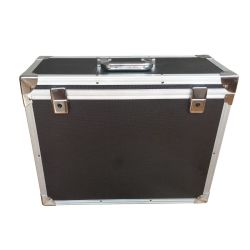 알루미늄 전시 단단한 장비 여행 도로 트롤리 상자