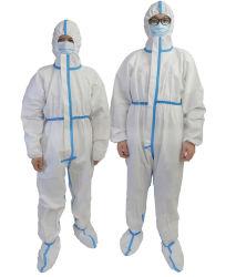 SGS EN14126 Hospital Medical isolamento protetor casaco pela fábrica na China