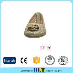 Tresse de confortables chaussures élastique tissée à la main occasionnels