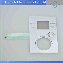 Folientastatur mit Metallic-Finish und Drehschalter