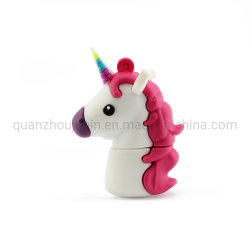Disco flash USB per contenitore unicorno in PVC OEM
