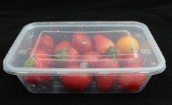 Comida de plástico descartáveis Grand Micro contêiner seguro