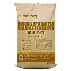 Abonos Solubles NPK Fórmula química 15-15-15, los precios de fertilizantes importados