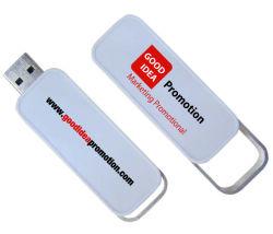 Custom lecteur Flash USB télescopique en plastique, cadeau promotionnel USB