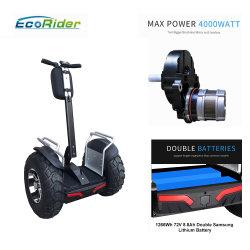 1266wh 72V 4000W de Golf de dos ruedas Scooter equilibrio coche