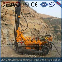 Jbp100b de las ventas a Nigeria de aire sobre orugas hidráulica&Rock Drilling Rig en cantera