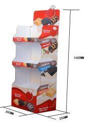 3つの層は印刷された波形のおもちゃまたは食糧陳列台をカスタマイズした