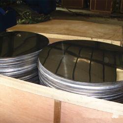 China 410 de alta qualidade de aço inoxidável laminado a frio Círculo Polaco