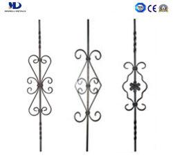 Las piezas ornamentales de alta calidad balaustres