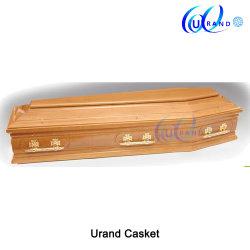 葬儀の木の中国はプラスチックハンドルの小箱および棺を作った
